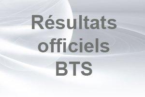 Résultats officiels BTS
